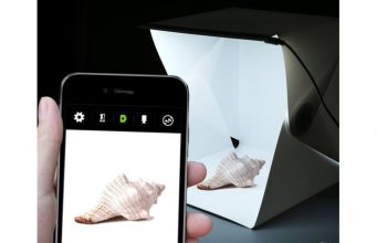 LEDライト搭載 折り畳み式フォトスタジオ